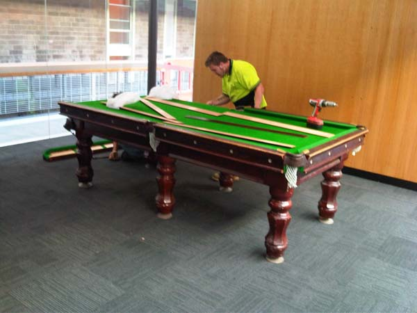 We Move Billiard Pool Table - How to move a pool table upstairs
