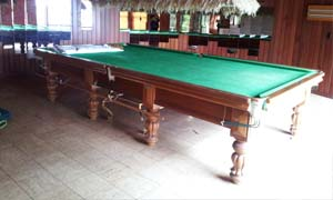 Amazing Moving 12 Foot Pool Table