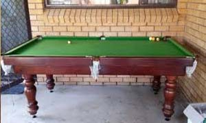 pool table removalists moving a 6 foot pool table